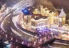Встречайте Новый 2017 год на горнолыжном курорте Красная Поляна!